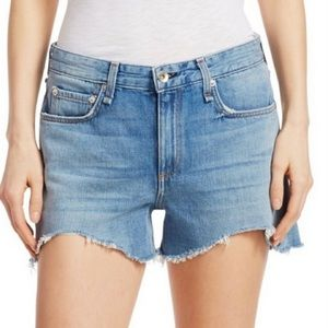 Rag and bone Dre Low  Rise Frayed Shorts size 28